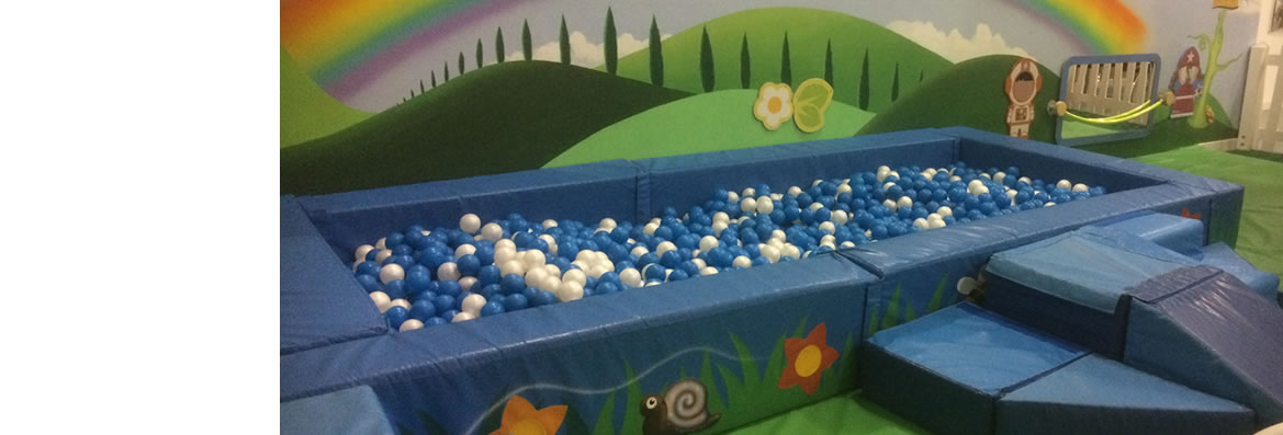 About Us - ball pit
